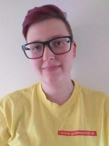 Maler- und Beschichtungstechnikerin Jasmin Simlinger